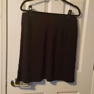 Two Black Skirts